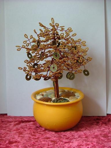Бисероплетение схемы денежное дерево - Делаем фенечки своими руками.