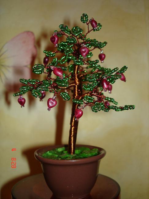 рукоделие деревья из бисера - Бисероплетение для Всех!